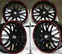 Jantes en Alliage X4 17 Br Alcar Motion 4x100 BMW Mini R50 R52 R55 R56 R57 R58
