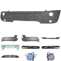 Kit Pare-Chocs avant BMW Mini Type R50 R52 R53 Année Fab. 01-04 Support +