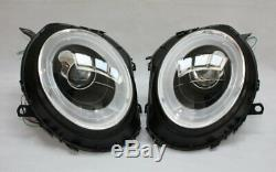LED Béquille Phare avant Set BMW Mini Cooper R55 Noir Clignotants LED