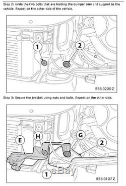 LED DRL Bar Feux Avant Phare pour BMW Mini Cooper R55 R56 R57 R58 R60 R61 CHROME