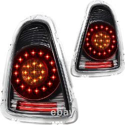 LED Lightbar Feux Kit pour BMW Mini R56 R57 Cabriolet Année Fab. 06-10 Film Noir