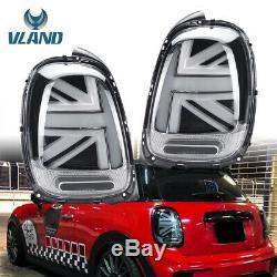 LHDFeu arrière Mini Cooper S F55 F56 F57 14-18 Union Jack Feux arrière dynamique