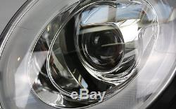 Led Béquille Phare avant Set BMW Mini Cooper R55 Chrome avec Moteur Clignotants