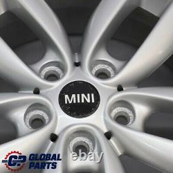 Mini Cooper R60 R61 Argent Jantes Alu Alliage 17 7J 5 Étoile Double Spoke 124