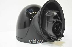 Mini Extérieur à L'Extérieur Miroir Gauche Rétroviseur One F55 F56 Minuit Noir