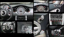 Mk1 BMW Mini Cooper/S / One R50 R52 R53 Chrome Intérieur Cadran Tableau de Bord