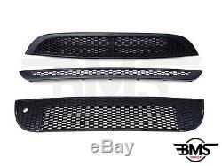 NEUF BMW Mini Aéro / JCW Pare-choc complet grille KIT DE GARNITURE R50 R52 R53