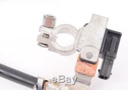 Original BMW E60 E70 Câble Batterie Négative avec Intelligent Capteur (Ibs)