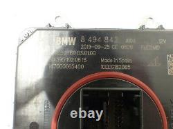Original BMW F20 F22 F30 F31 F32 Commande Frontlichtelektronik LED 8494844