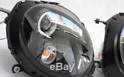 PHARES Lot LED Angel Eyes Anneaux lumière de parking BMW MINI COOPER NOIR