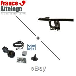 Pack attalage pour BMW Mini Countryman 10- Amovible + Faisceau 7 broches TOP