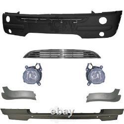 Pare-Chocs Incl. Accessoire + Brouillard Pour BMW Mini Type R50/R52/R53