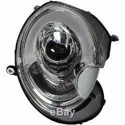 Phare avant Set BMW Mini R55 56 57 Année Fab. 06-10 Led Lumière Tube Cff Optique