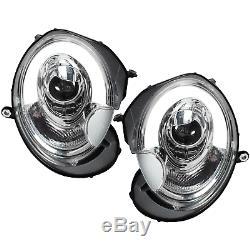 Phare avant Set pour BMW Mini R55 56 57 Année Fab. 06-10 LED Lumière Tube Cff
