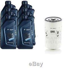 Pour BMW Huile Moteur 10l Mann Filtre W 1168/6 2 Active Tourer F45 Z4 Coupé E86