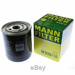 Pour BMW Huile Moteur 10l Mann Filtre à W 930/15 2 Grain Tourer F46 6 Coupé F06