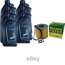 Pour BMW Huile Moteur 11l Mann Filtre H 1260 X I3 I01 2 Active Tourer F45 I8 I12