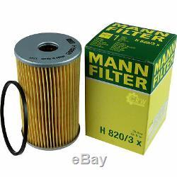 Pour BMW Huile Moteur 11l Mann Filtre H 820/3 X X4 F26 1er Cabriolet E88 6er