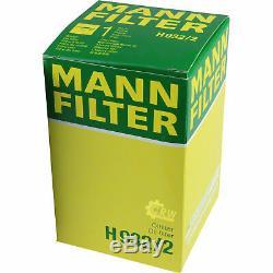 Pour BMW Huile Moteur 11l Mann Filtre H 932/2 Z3 E36 8er E31 X4 F26 I01 E65 E66
