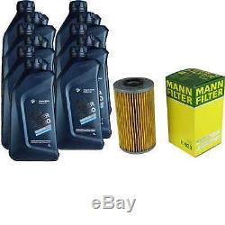 Pour BMW Huile Moteur 11l Mann Filtre à H 939 Z8 E52 4 Cabriolet F33 F83 2 F23