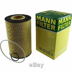 Pour BMW Huile Moteur 11l Mann Filtre à Hu 12 122 X X5 E70 E53 F15 F85 4 Gran