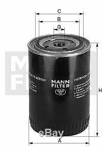 Pour BMW Huile Moteur 11l Mann Filtre à W 1168/3 Z8 E52 X4 F26 3er F30 F80 F35