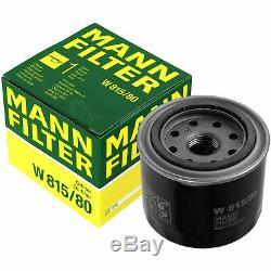 Pour BMW Huile Moteur 11l Mann Filtre à W 815/80 I3 I01 3er E36 F30 E46 7er E32