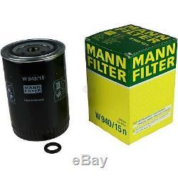 Pour BMW Huile Moteur 11l Mann Filtre à W 940/15 N 6er E63 2 Active Tourer F45