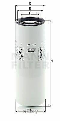 Pour BMW Huile Moteur 7l Mann Filtre Wp 12 330 3er Coupé E92 E46 E36 5er Touring