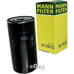 Pour BMW Huile Moteur 7l Mann Filtre à W 1170/13 5er Granturismo F07 X5 F15 F85