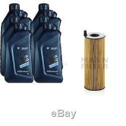 Pour BMW Huile Moteur 8l Mann Filtre à Hu 7016 X X5 E70 F15 F85 E53 5er Grain
