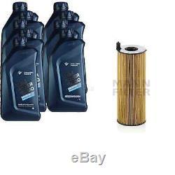 Pour BMW Huile Moteur 9l Mann Filtre Hu 7016 x 4 Cabriolet F33 F83 2 Gran Tourer