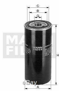 Pour BMW Huile Moteur 9l Mann Filtre WD 13 145/18 X1 E84 F48 3er Coupé E46 E92