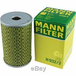 Pour BMW Huile Moteur 9l Mann Filtre à H 932/2 6er Coupé F13 2 Grain Tourer F46