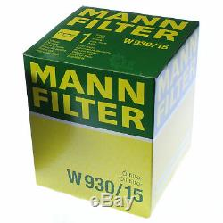 Pour BMW Huile Moteur 9l Mann Filtre à Huile W 930/15 4 Coupé F32 F82 6er E63 Z3