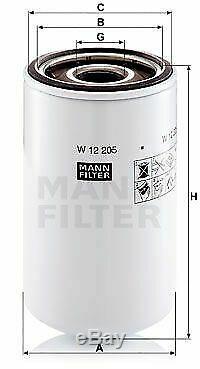 Pour BMW Huile Moteur 9l Mann Filtre à W 12 205 7er E65 E66 E67 E32 G11 G12 3er
