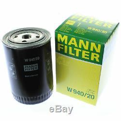 Pour BMW Huile Moteur 9l Mann Filtre à W 940/20 3er F30 F80 F35 E36 Cabriolet
