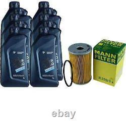 Pour BMW huile moteur 10l Mann Filtre H 820/3 X Z4 E89 E85 6er E63 8er E31 E84