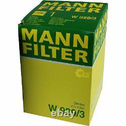 Pour BMW huile moteur 10l Mann Filtre à Huile W 929/3 3er Compact E46 E36 1er