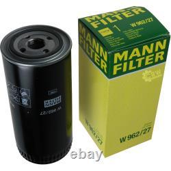 Pour BMW huile moteur 4l Mann Filtre à Huile W 962/27 X5 F15 F85 E53 E70 6er