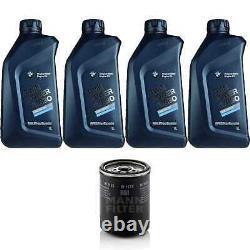 Pour BMW huile moteur 4l Mann Filtre à W 1135 6 Gran Coupé F06 3 Turismo F34 8er