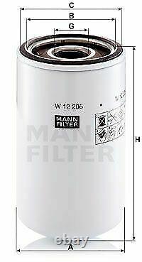Pour BMW huile moteur 4l Mann Filtre à W 12 205 6er Coupé F13 Z4 E85 E89 1er E82