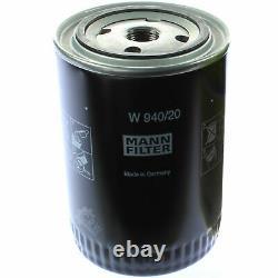Pour BMW huile moteur 4l Mann Filtre à W 940/20 2 Coupé F22 F87 5er E34 E60 F10