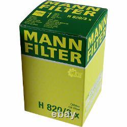 Pour BMW huile moteur 5l Mann Filtre à H 820/3 X X3 E83 F25 Z1 5er Gran Turismo