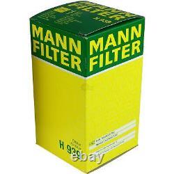 Pour BMW huile moteur 5l Mann Filtre à H 939 2 Active Tourer F45 Z8 E52 6er E63