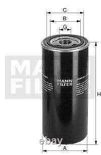 Pour BMW huile moteur 5l Mann Filtre à WH 724 5er E60 F10 F18 1er E81 F20 E87