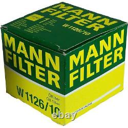 Pour BMW huile moteur 5l Mann Filtre à W 1126/10 3er Compact E36 E46 Z8 E52 X6