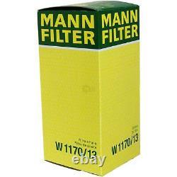 Pour BMW huile moteur 5l Mann Filtre à W 1170/13 4 Cabriolet F33 F83 3er Coupé