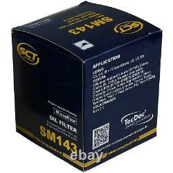Pour BMW huile moteur 5l Sct Filtre à Huile Sm 143 Mini R50 R53 One D