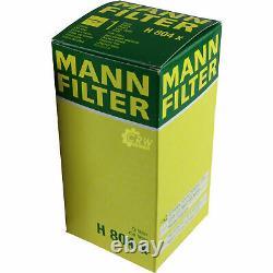 Pour BMW huile moteur 6l Mann Filtre H 804 X Z3 E36 X4 F26 4 Gran Coupé F36 F10